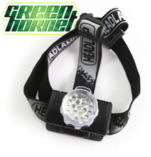 Green Head Lamp