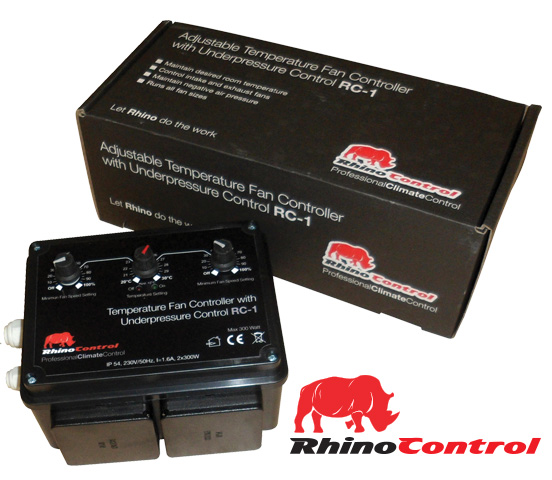 Rhino Dual Fan Speed Control