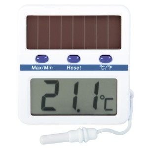Solar Powered Thermometer